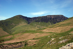 View from Newlands Hause - Wandope & Whiteless Pike