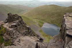 Sharp Edge & Scales Tarn on Blencathra